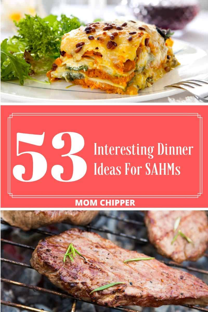 Stay at Home Mom Dinner Ideas