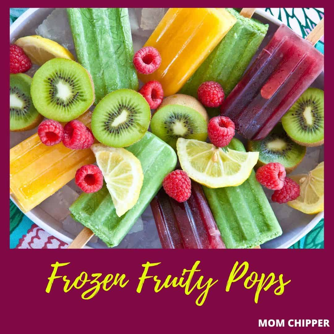 What fun snacks to cook as a stay at home mom