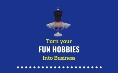 Fun hobbies that make money for SAHMs