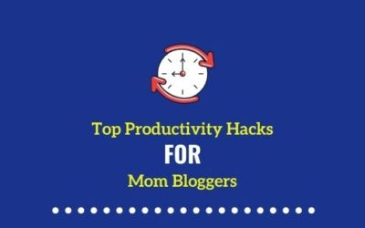 How to stay productive as a Mommy Blogger?