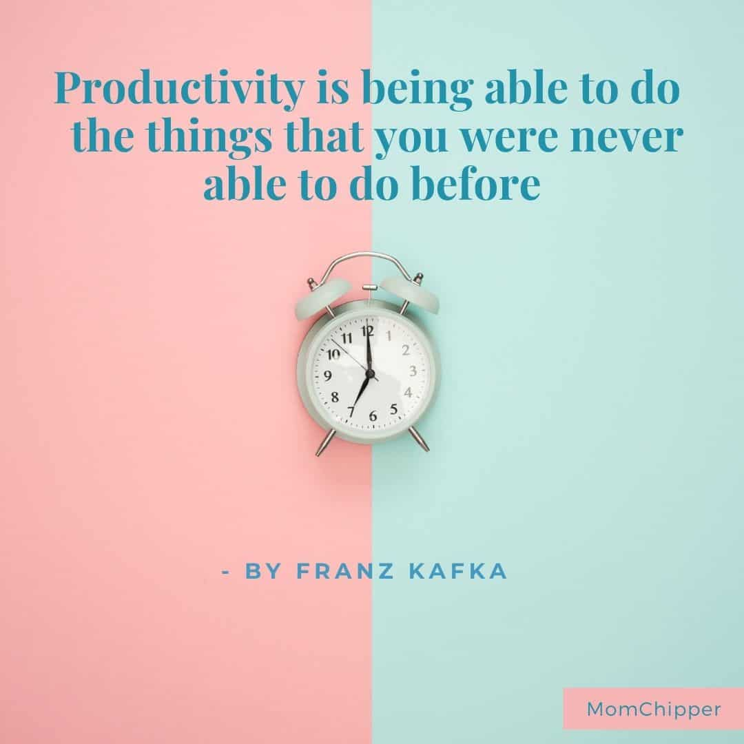 How to stay productive as a Mommy Blogger
