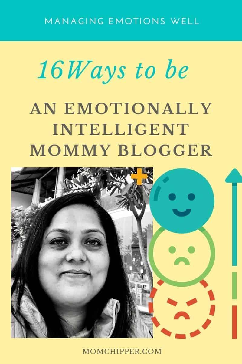 Maintaining Emotional Balance during Mommy Blogging